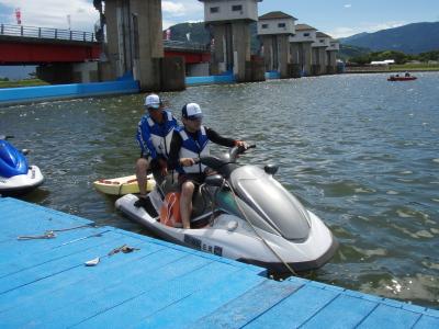 ボート競技警戒2日目_a0077071_1912863.jpg