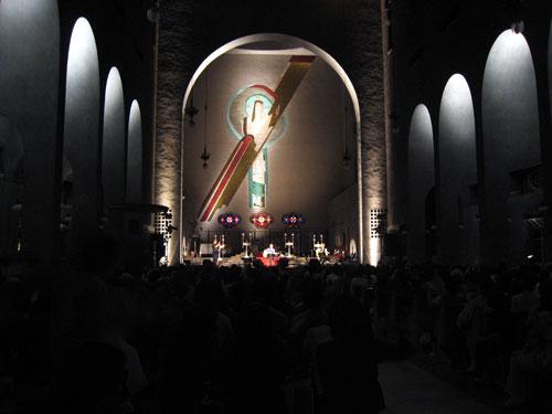 毎年8月7日は、南こうせつ in 世界平和記念聖堂 _a0047200_15135970.jpg