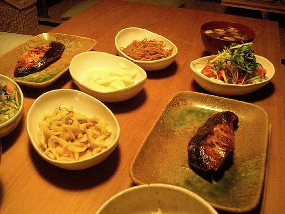 最近のごはん〜海の幸と野菜たっぷり〜_f0054859_22562246.jpg