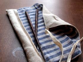 箸袋を作ってみた。_c0110869_22433728.jpg