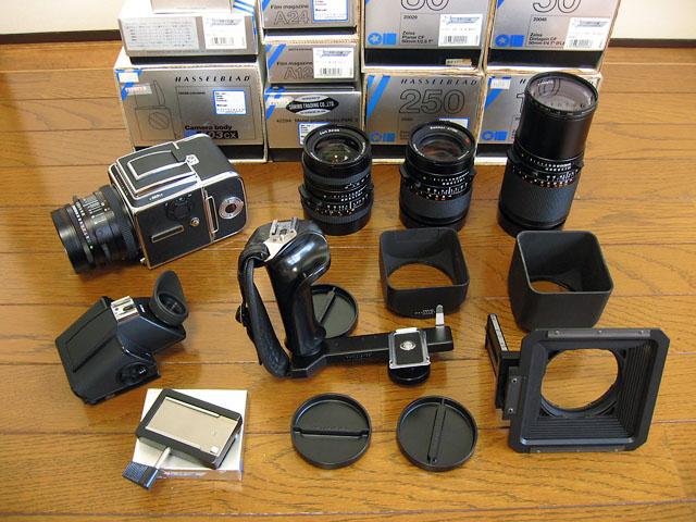 ハッセルブラッド 503CX レンズ、その他 売却_b0042282_20155453.jpg