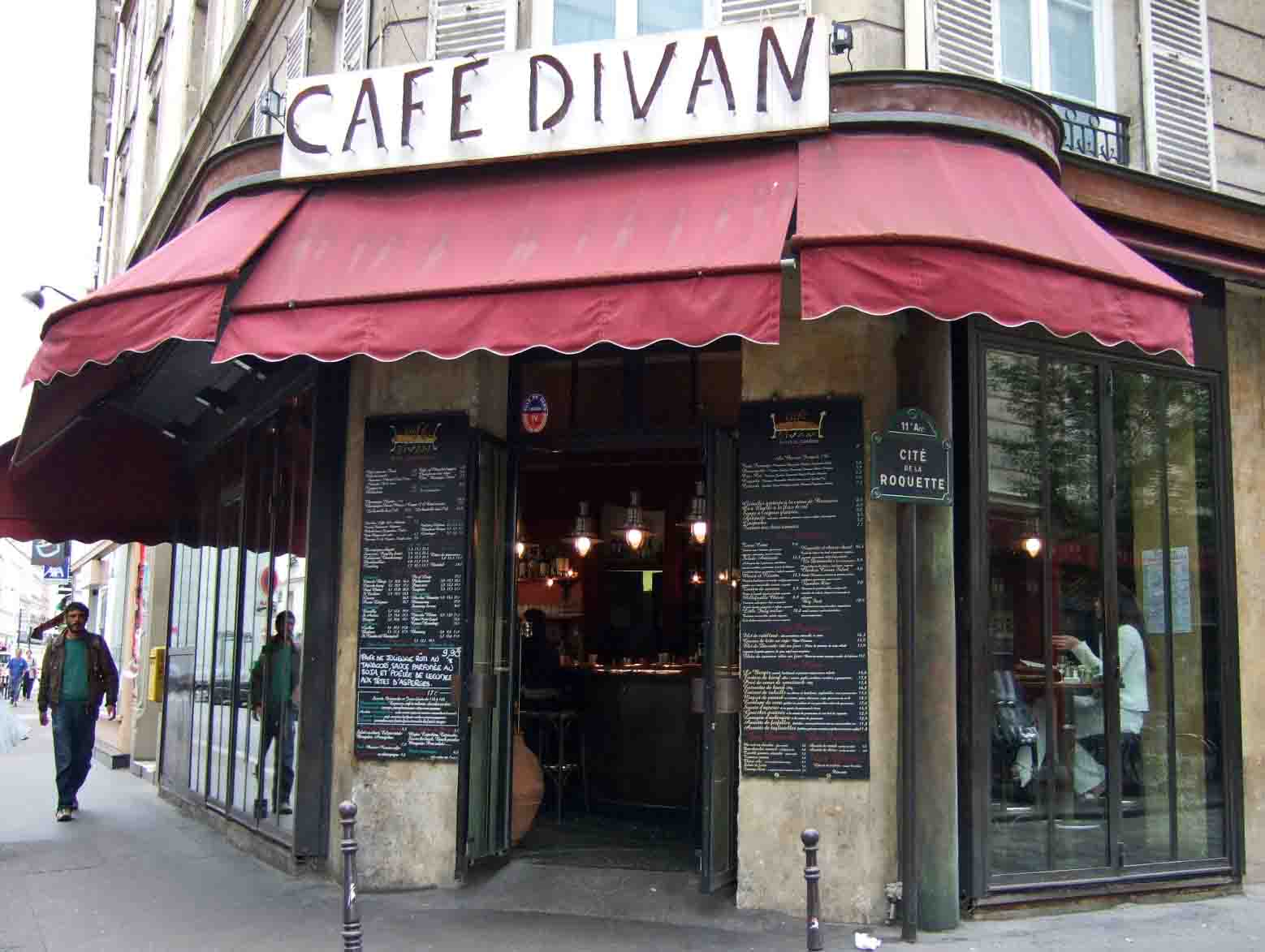 Cafe divan le pure cafe 11 pourquoi pas for Cafe divan 75011
