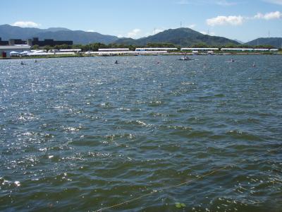 高校総体ボート競技警戒5日目_a0077071_1719353.jpg