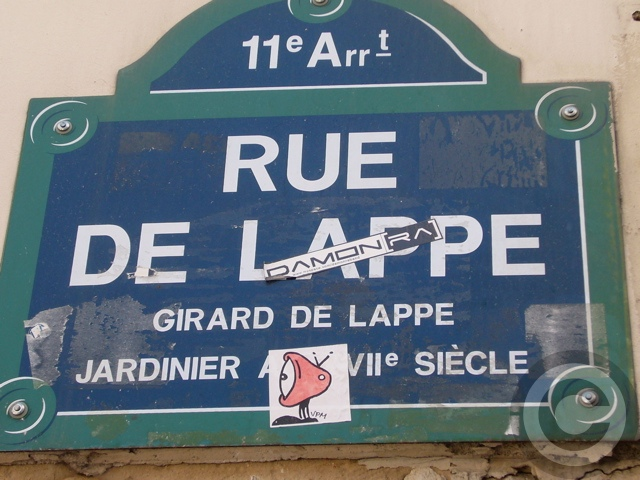 ■RUE DE LAPPE(バスティーユ界隈)_a0014299_21203537.jpg