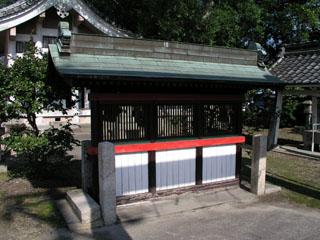 津島市憶感神社の蕃塀_e0113570_21524969.jpg