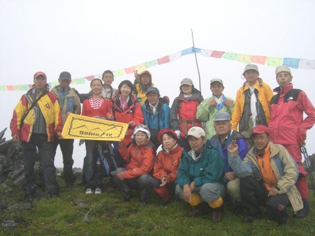 中国、四川省、三奥雪山登山報告  参加11名。_d0007657_1824310.jpg