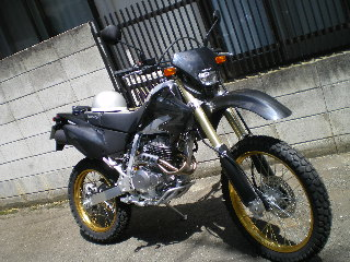息子の新車バイク_c0118352_1131583.jpg