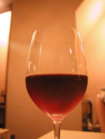 レプロットの鮎のパスタとワイン・ロゼ_f0053279_18542221.jpg