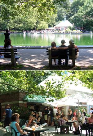 セントラルパークで模型ヨット遊びのできる池 Conservatory Water_b0007805_12492940.jpg
