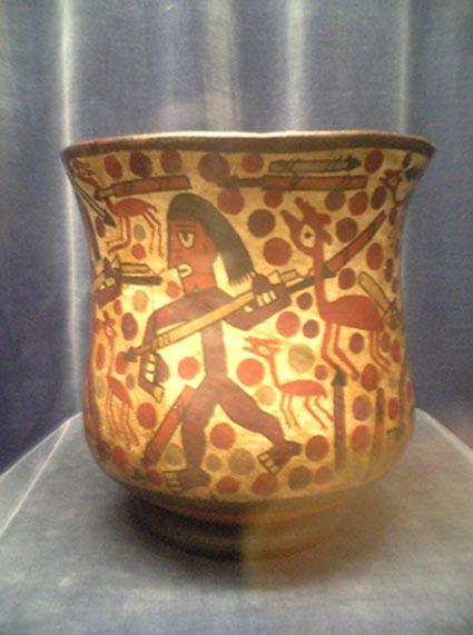 ペルー:天野博物館(土器、彩土器その1)_c0125114_3345714.jpg