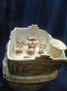 ペルー:天野博物館(土器・彩土器2)_c0125114_339524.jpg