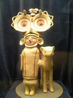 ペルー:天野博物館(土器・彩土器2)_c0125114_3405112.jpg