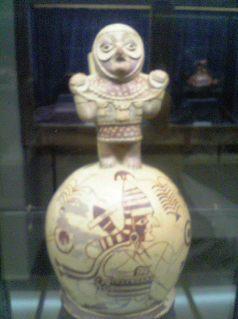 ペルー:天野博物館(土器・彩土器2)_c0125114_3425575.jpg