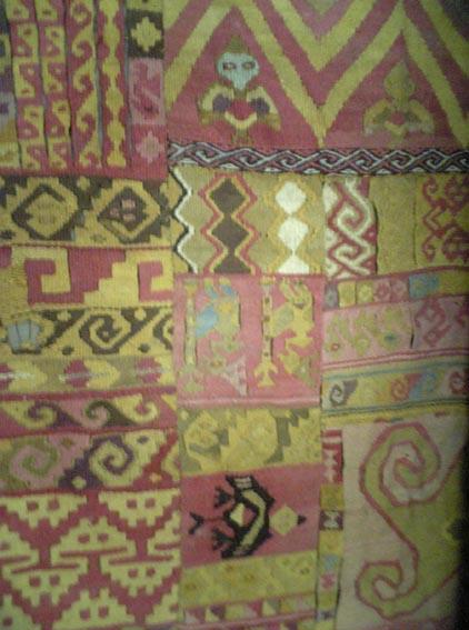 ペルー:天野博物館(布地)_c0125114_3483297.jpg