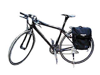 自転車の 自転車 荷台 かご : さっそくこのバイクで、取引先 ...