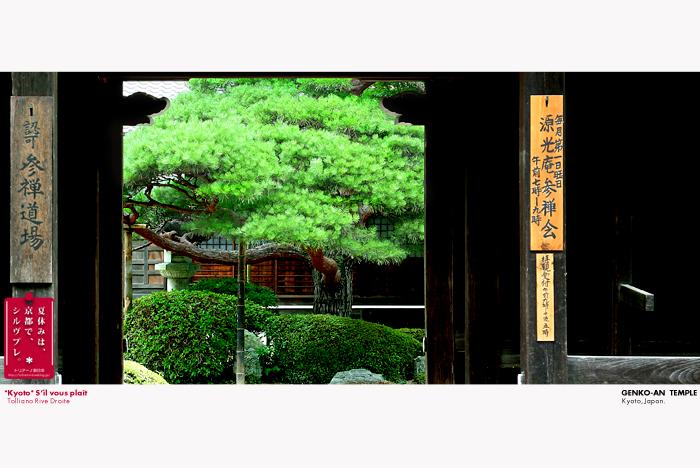 京都シルヴプレ 72     源光庵 1   山門と魚板_f0038408_1040471.jpg