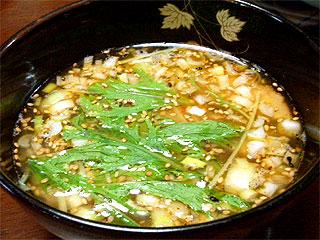 塩つけ麺&炒飯@自作らーめん_f0080612_22573324.jpg