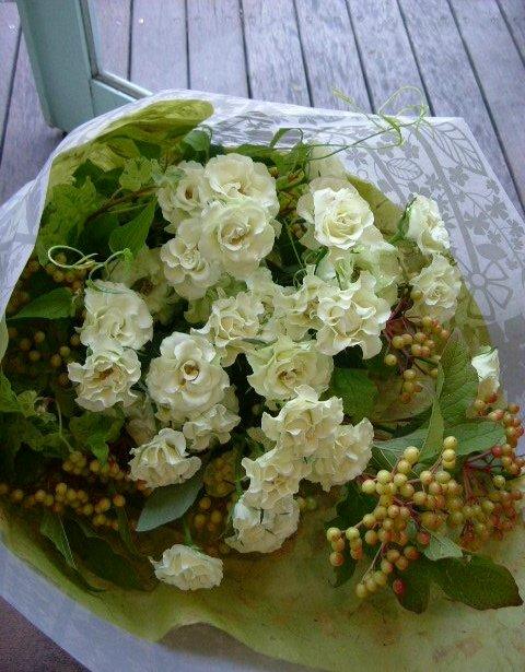 オークリーフ(バラ・緑光の花束)_f0049672_14411560.jpg