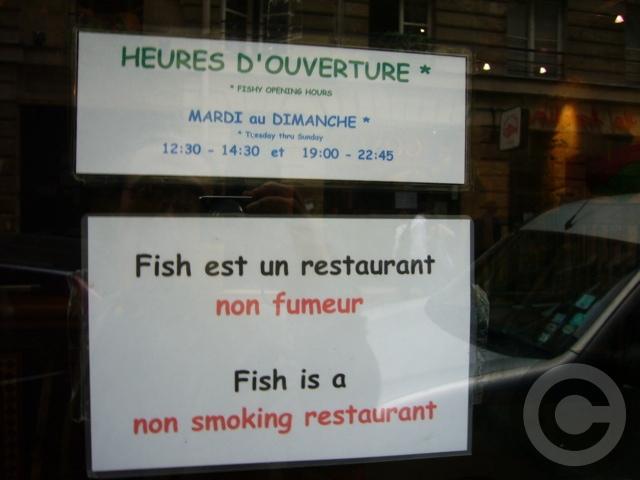 ■Fish La Boissonnerie(パリ)_a0014299_19561781.jpg