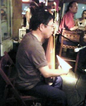 枇杷、詩吟、Jazzの夕べ_a0031191_2314096.jpg