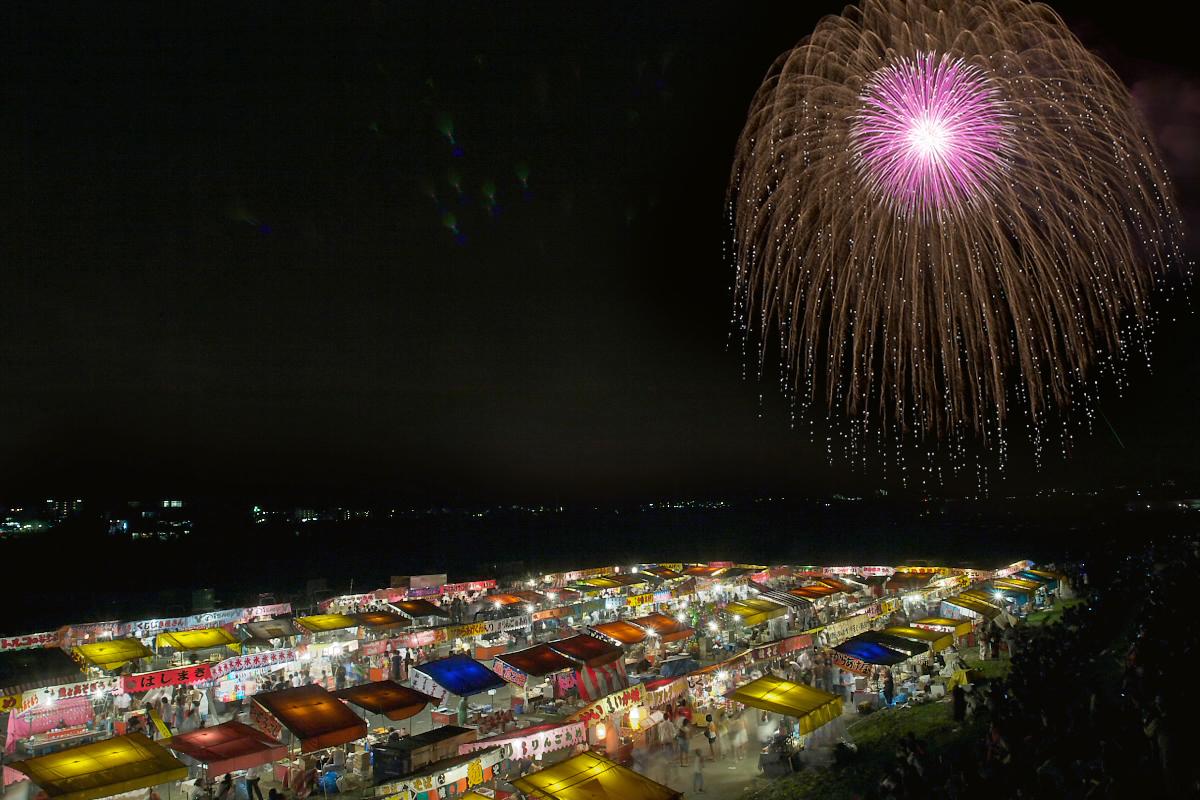 亀岡平和祭保津川花火大会 2_f0021869_2253511.jpg