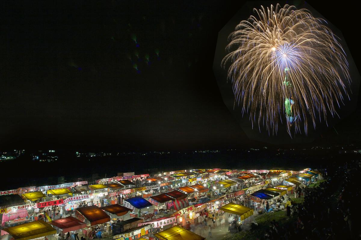 亀岡平和祭保津川花火大会 2_f0021869_22543862.jpg