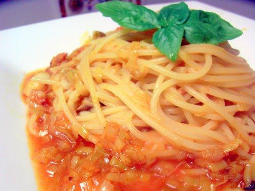 Spaghetti ai Porri(ポロネギのスパゲッティ) _f0090286_1204181.jpg