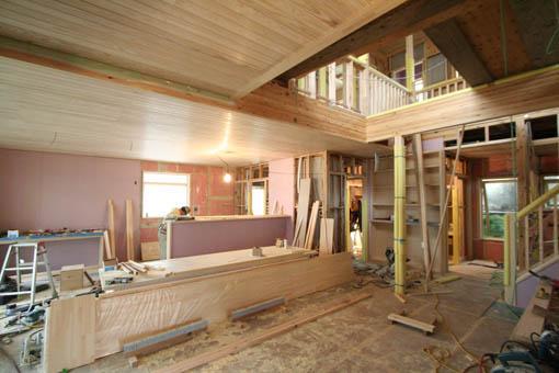 Q1泉の家 27:内装と造付家具_e0054299_10161635.jpg