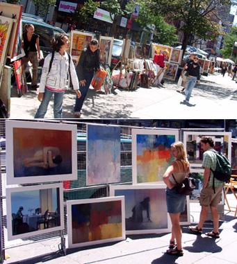 SOHOの街角ギャラリー West Broadway_b0007805_156386.jpg