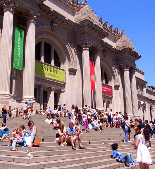 メトロポリタン美術館前の大階段_b0007805_22373270.jpg