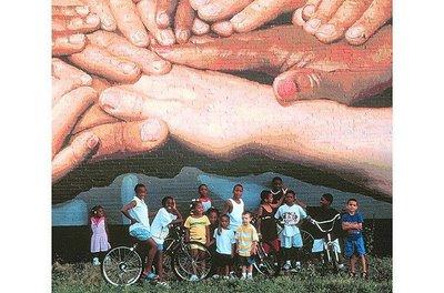 ★都会のアート~ビルに描かれた巨大絵の世界!!(◎_◎;) _a0028694_16123855.jpg