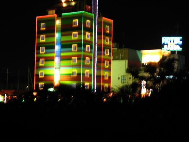 琵琶湖畔の夜 _a0106807_441373.jpg