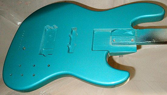 横倉くんOrderの「Active 5弦Bass」の着色完了〜!_e0053731_21404743.jpg