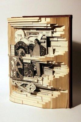 ★古書のアート~リサイクル・アートの傑作集(゚ロ゚;)ミテビックリ!_a0028694_119522.jpg