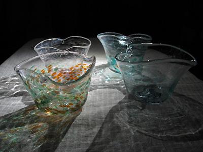 吹きガラス体験 完成作品は_d0080906_22133377.jpg