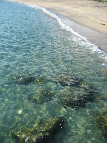 栗生の浜と夏の雲_c0107829_12261046.jpg