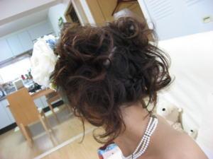 手作り大好きな花嫁さん_c0043737_18543155.jpg