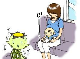 2007.8.26 赤ちゃんに見つめられて。_d0051037_114541.jpg