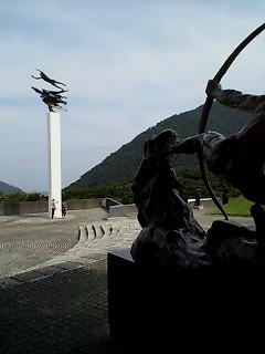 ニケンメは彫刻の森です_d0092901_1410522.jpg