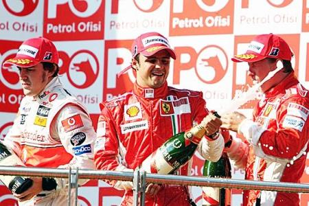 2007 F1トルコGP決勝フェラーリのマッサが今季3勝目_b0068605_1921052.jpg