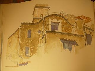イタリアの美しい水彩画の本_c0102228_20505030.jpg