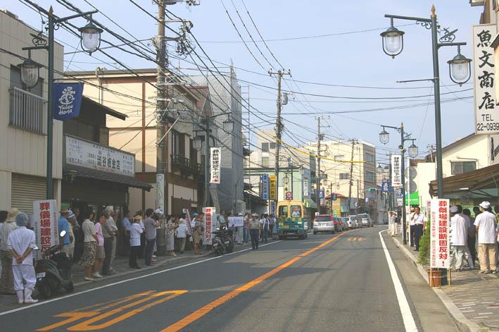 古都鎌倉・由比ガ浜通りの葬儀場強行着工、27日は見送り_c0014967_11381660.jpg