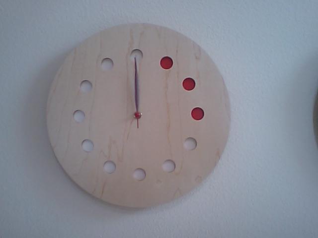 メープルの時計_a0107574_15553652.jpg