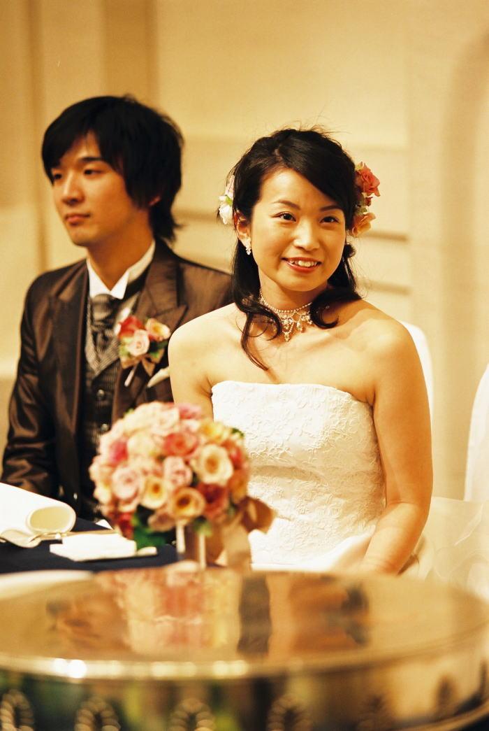 新郎新婦様からのメール 青山ダイヤモンドホールの新婦様_a0042928_0294525.jpg