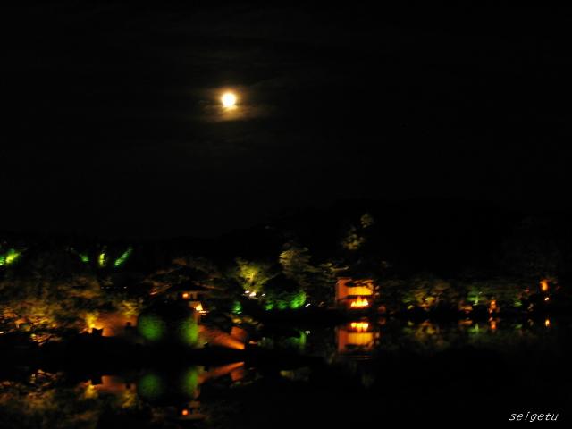 お月様と。。。。。_c0126344_2333951.jpg
