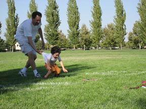 公園でフリスビーをやったよ。_c0119197_10432014.jpg
