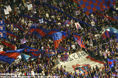 横浜FCvsFC東京 東京ゴール裏