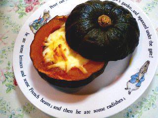 かぼちゃグラタン_c0106100_23514856.jpg