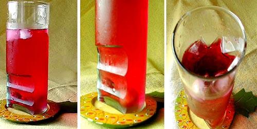 果実酢とグラス_b0073937_1232674.jpg
