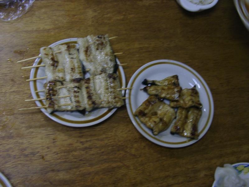 ウナギ食べました。_a0074069_21332727.jpg